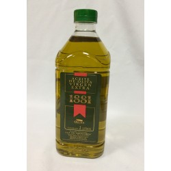 Extra virgin olive oil , 2 liters , 1881