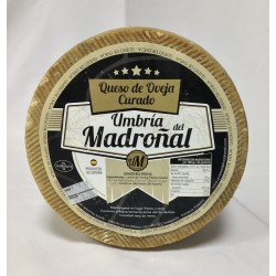 "CURED SHEEP CHEESE ""UMBRÍA DEL MADROÑAL"""